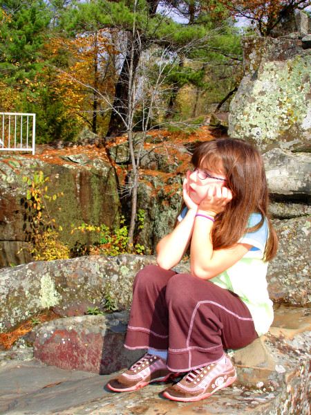 Nicole in pensive mood